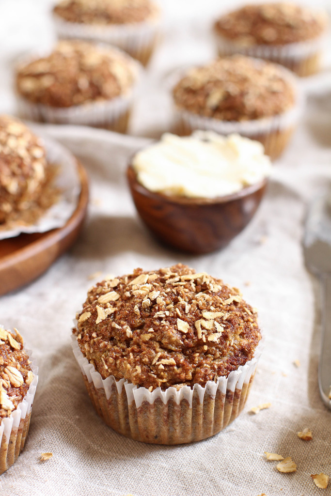 Perfect vegan bran muffins - made with wheat bran, brown sugar and coconut oil.