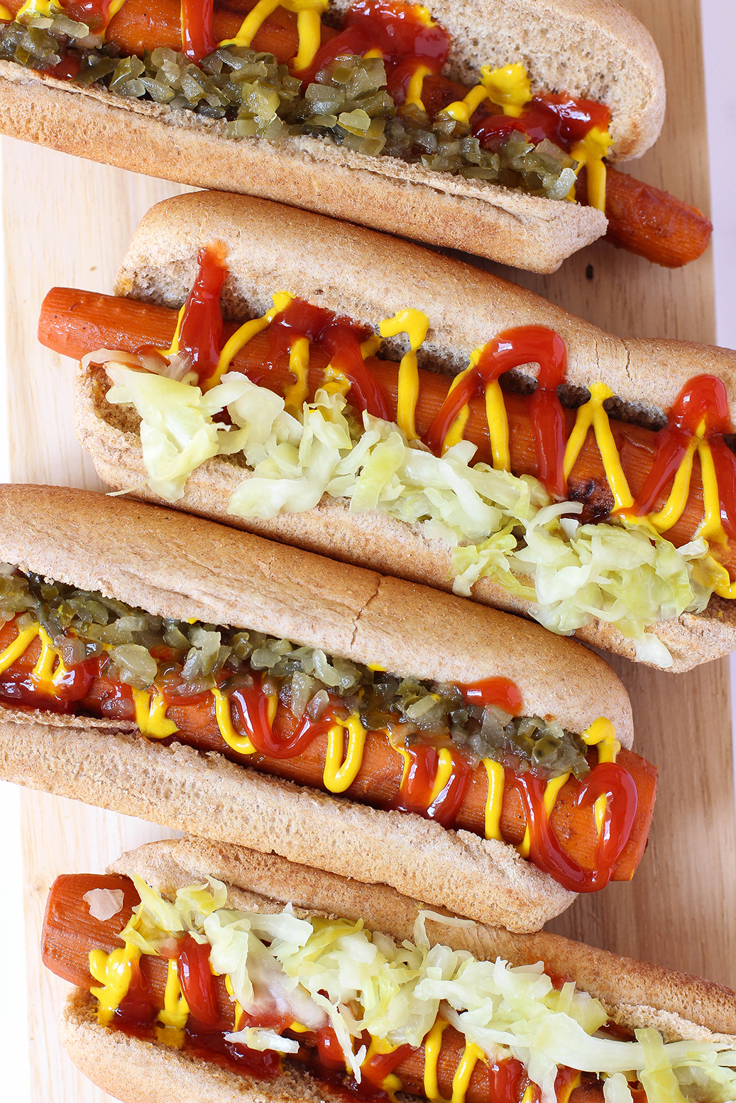 vegan carrot hot dogs the mostly vegan. Black Bedroom Furniture Sets. Home Design Ideas