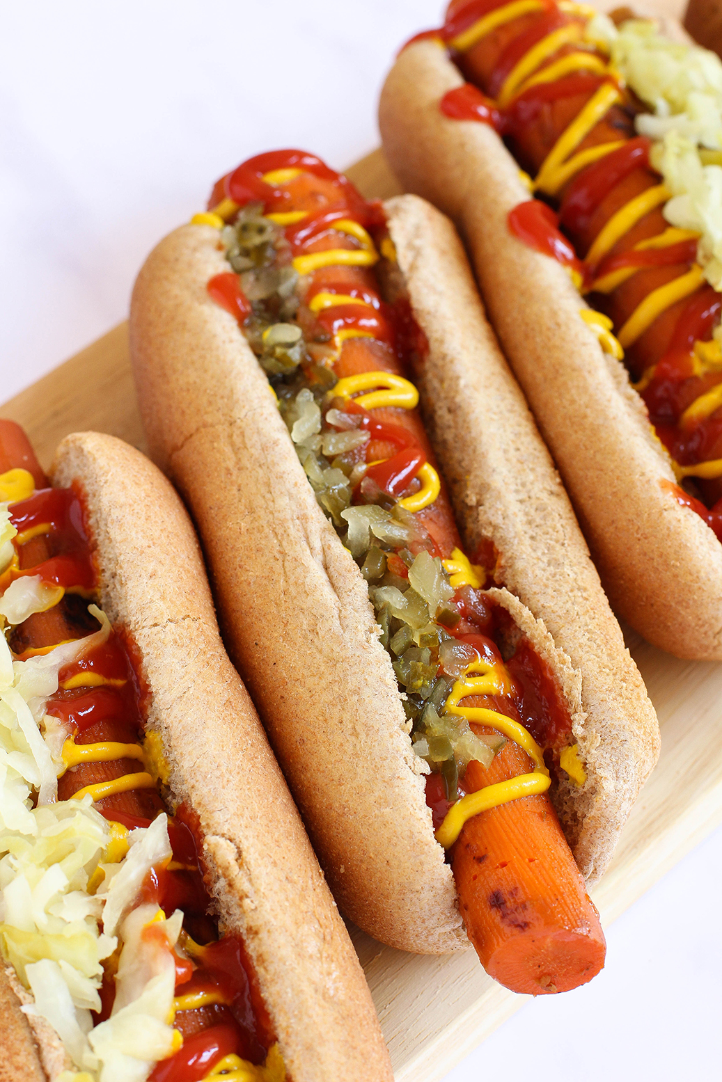 Vegan Carrot Hot Dogs | The Mostly Vegan