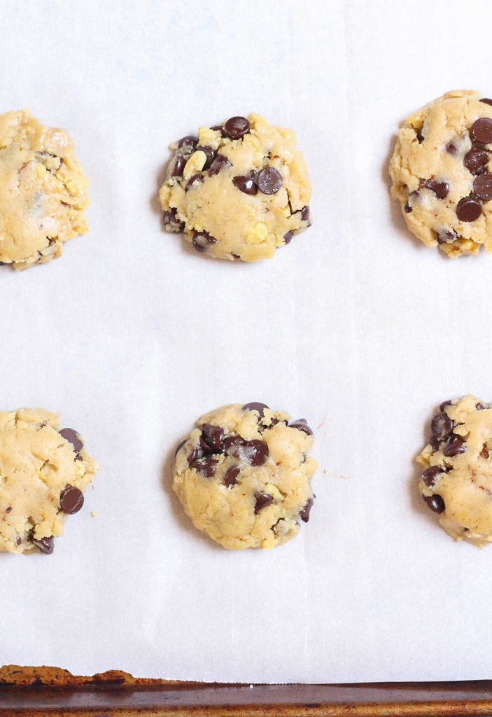 Vegan Chocolate Chip Cookies | The Mostly Vegan